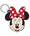 Rubberen sleutelhanger Minnie Mouse