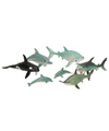Plastic zeedierenset 7 stuks