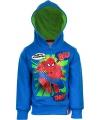Spiderman sweater blauw