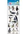 Pinguins stickervellen