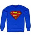 Blauwe trui Superman logo