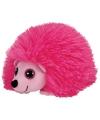 Roze knuffel egeltjes 15 cm