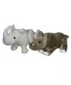 Neushoorn knuffeltjes wit
