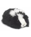 Zwarte pluche knuffel cavia 19 cm