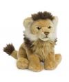 Pluche leeuw knuffeldier 23 cm